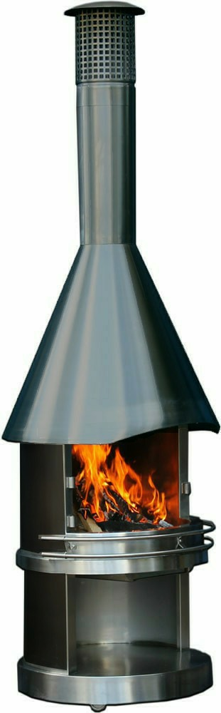 gartenkamin und grillkamin rubin black grillkamine gartenkamine. Black Bedroom Furniture Sets. Home Design Ideas