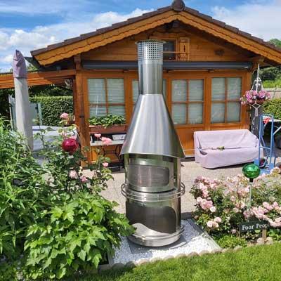 Gartenkamine-aus-Edelstahl